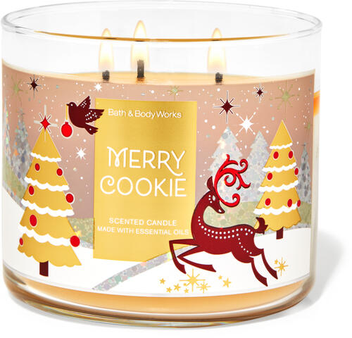 Merry Cookie 3-Wick Candle