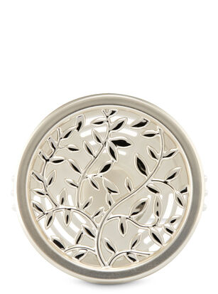 Silver Vines Vent Clip Car Fragrance Holder