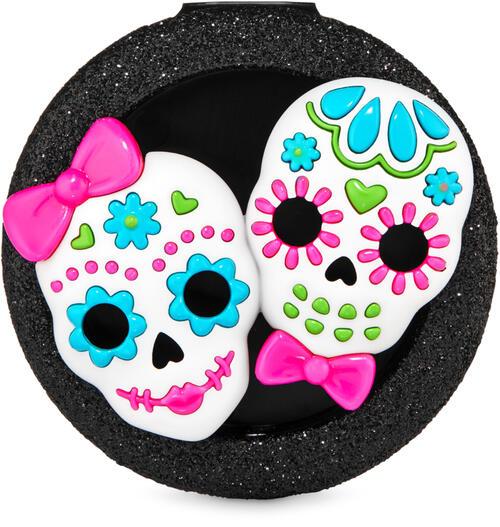 Sugar Skulls Visor Clip Car Fragrance Holder