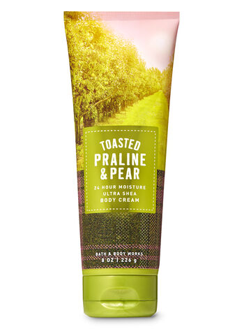 Toasted Praline & Pear Ultra Shea Body Cream - Bath And Body Works