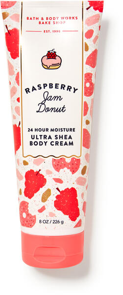 Raspberry Jam Donut Ultra Shea Body Cream