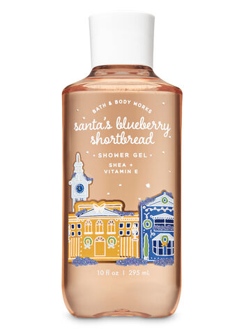 Santa's Blueberry Shortbread Shower Gel - Bath And Body Works