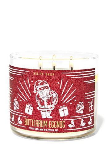 Butter Rum Eggnog 3-Wick Candle