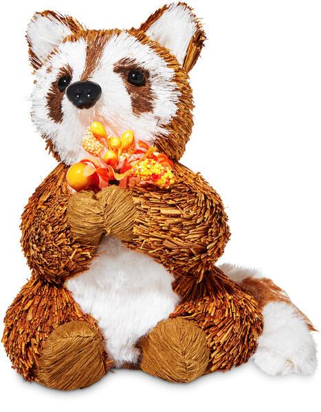 Fall Racoon Figurine