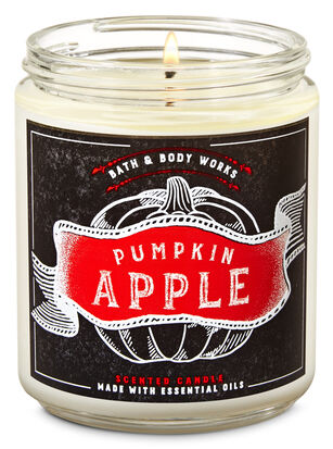 Pumpkin Apple Single Wick Candle