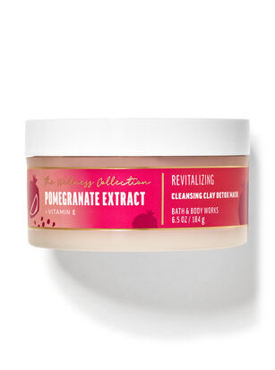 Pomegranate Extract Cleansing Clay Detox Mask