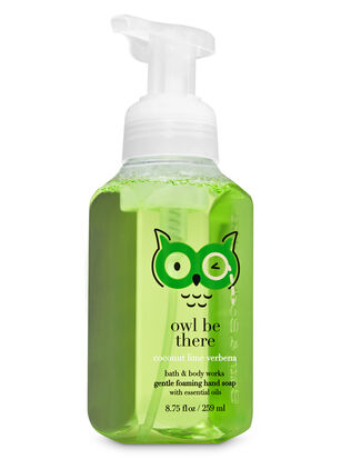 Coconut Lime Verbena Gentle Foaming Hand Soap