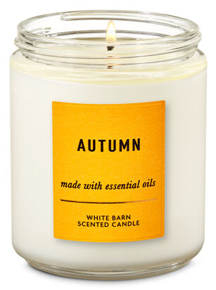 Autumn Single Wick Candle