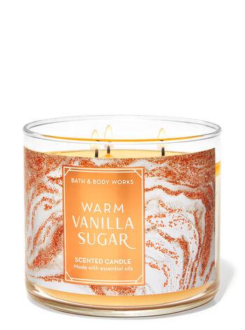 Warm Vanilla Sugar 3-Wick Candle