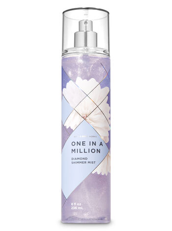 Signature Collection One in a Million Diamond Shimmer Mist - Bath And Body Works