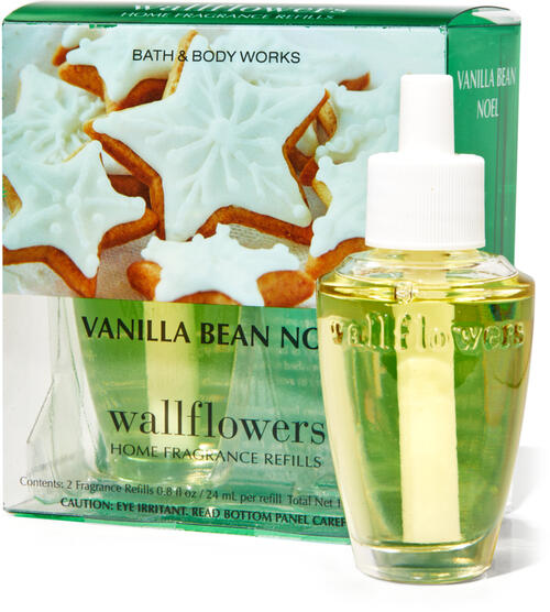 Vanilla Bean Noel Wallflowers Refills, 2-Pack