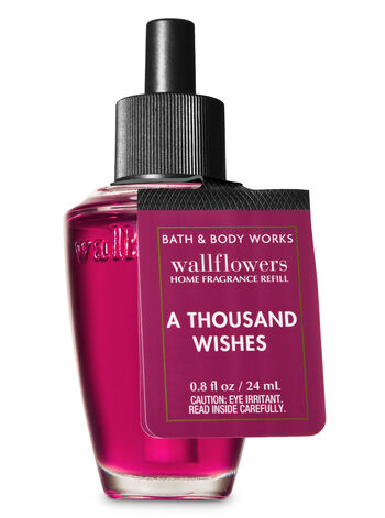 Signature Collection A Thousand Wishes Wallflowers Fragrance Refill - Bath And Body Works
