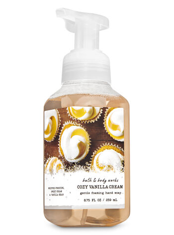 Cozy Vanilla Cream Gentle Foaming Hand Soap - Bath And Body Works