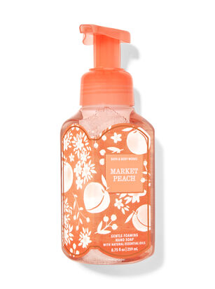 Market Peach Gentle Foaming Hand Soap