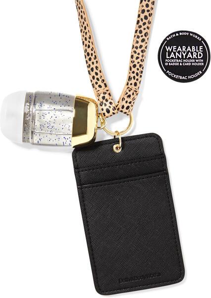 Wearable Cheetah ID Card PocketBac Holder