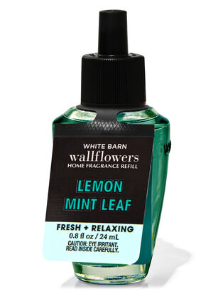 Lemon Mint Leaf Wallflowers Fragrance Refill