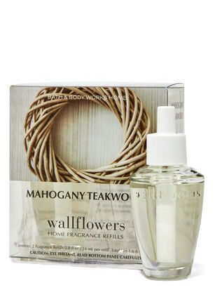 Mahogany Teakwood Wallflowers Refills 2-Pack