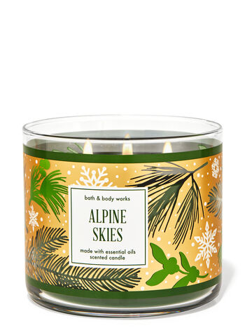 Alpine Skies 3-Wick Candle