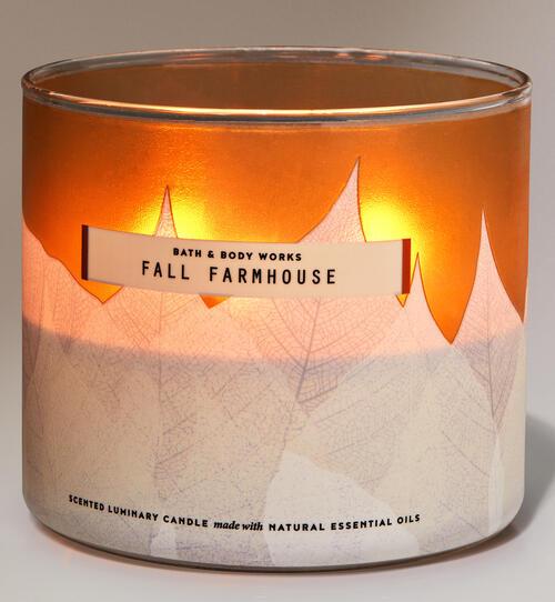Fall Farmhouse 3-Wick Candle
