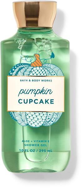Pumpkin Cupcake Shower Gel