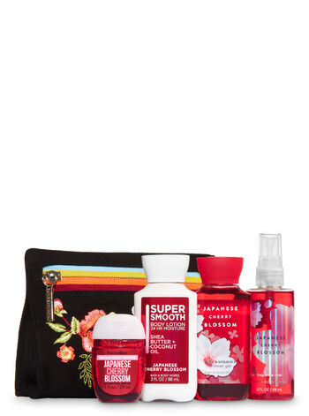 Japanese Cherry Blossom Oh, So Fab! Cosmetic Bag Gift Set
