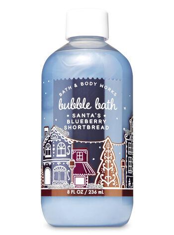 Santa's Blueberry Shortbread Bubble Bath - Bath And Body Works