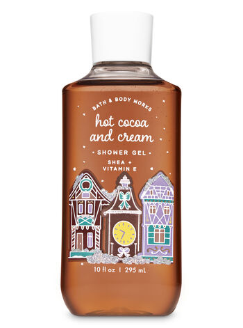 Hot Cocoa & Cream Shower Gel - Bath And Body Works