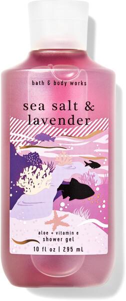 Sea Salt & Lavender Shower Gel