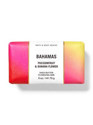 Bahamas Passionfruit & Banana Flower Shea Butter Cleansing Bar