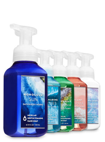 Crystal Cove Micellar Gentle Foaming Hand Soap, 5-Pack - Bath And Body Works