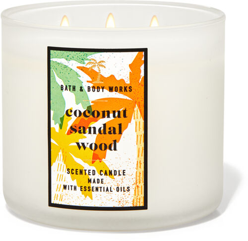 Bath /& Body Works CITRUS CRYSTALS Candle 3 WICK NEW Pick Quantity
