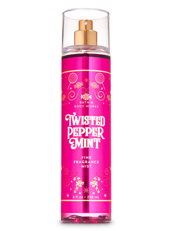 Twisted Peppermint Fine Fragrance Mist - Bath And Body Works