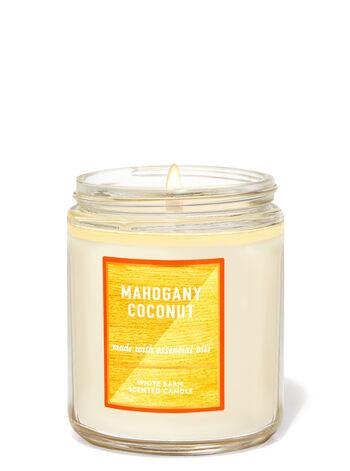 Mahogany Coconut Single Wick Candle