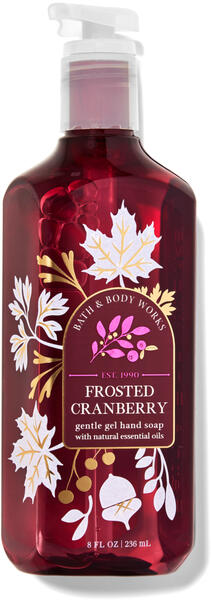 Frosted Cranberry Gentle Gel Hand Soap