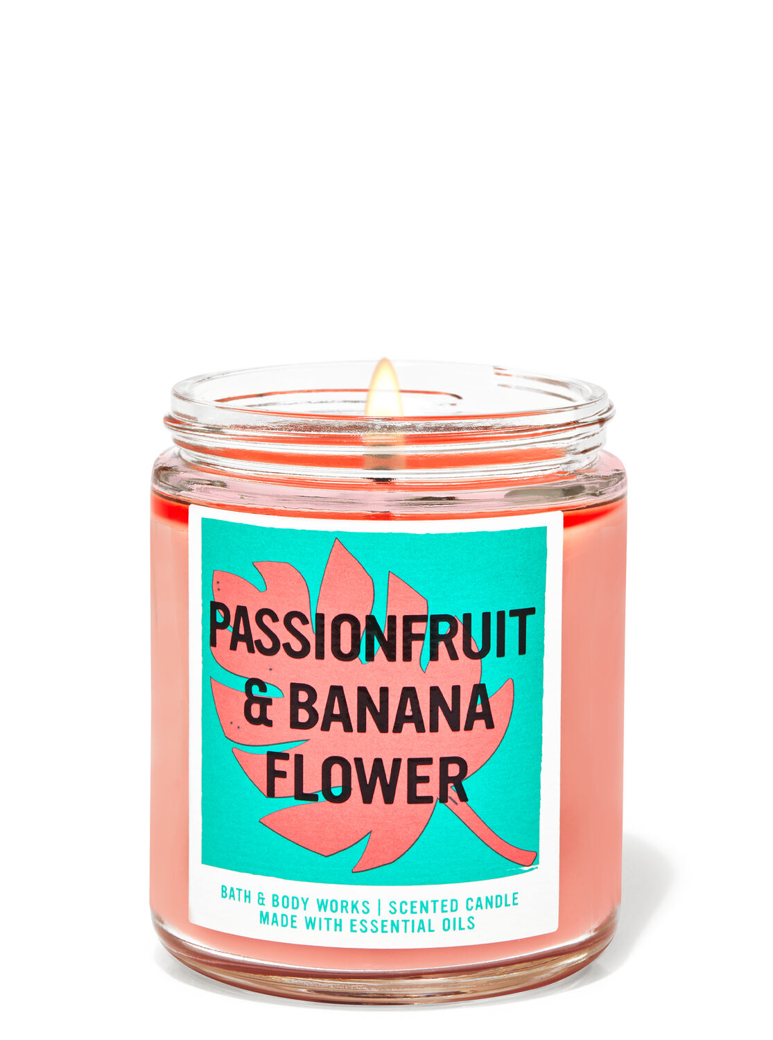 Passionfruit & Banana Flower Single Wick Candle