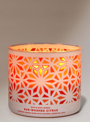 Sun-Washed Citrus 3-Wick Candle