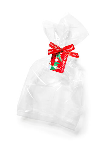 Clear Holiday Gift Wrap Kit