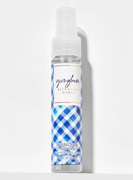 Gingham Hand Sanitizer Spray