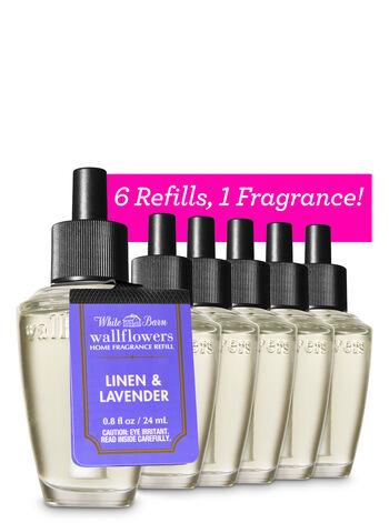 Linen & Lavender Wallflowers Refills, 6-Pack