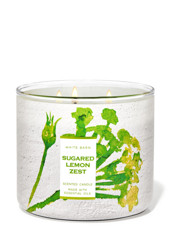 Sugared Lemon Zest 3-Wick Candle