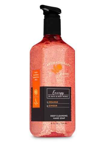 Aromatherapy Orange Ginger Deep Cleansing Hand Soap - Bath And Body Works