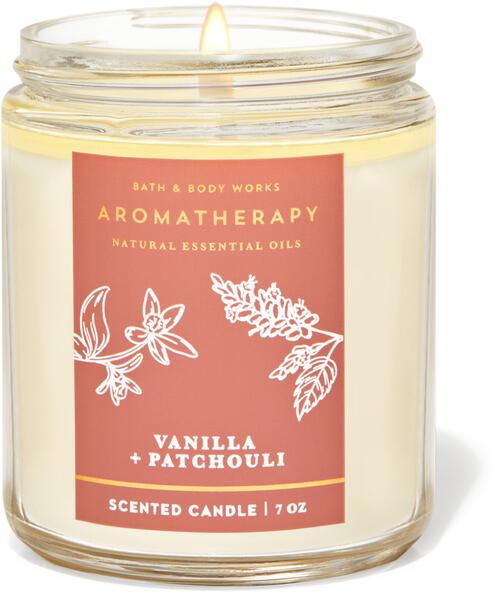 Vanilla Patchouli Single Wick Candle