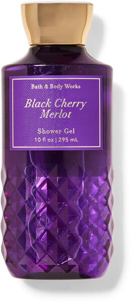 Black Cherry Merlot Shower Gel