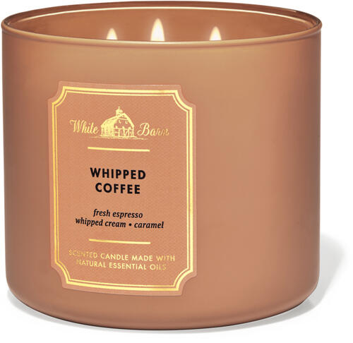 Whipped Coffee 3-Wick Candle