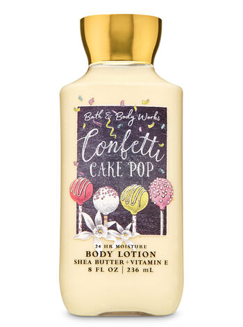 Confetti Cake Pop Super Smooth Body Lotion - Bath And Body Works