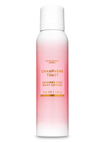 Champagne Toast Shimmer Fizz Body Lotion - Bath And Body Works