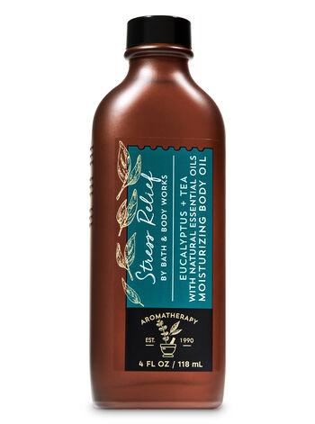 Aromatherapy Eucalyptus Tea Moisturizing Body Oil - Bath And Body Works