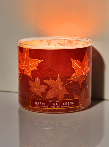 Harvest Gathering 3-Wick Candle