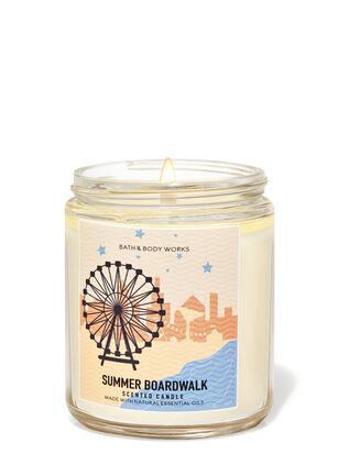 Summer Boardwalk Single Wick Candle