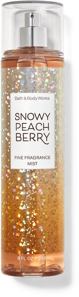Snowy Peach Berry Fine Fragrance Mist